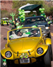St. Patrick's Day Parade Yellow Car