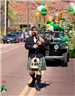St. Patrick's Day Parade Male Piper