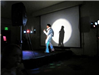Elvis Impersonator in Spotlight