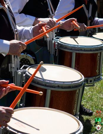 St. Patrick's Day Drummers